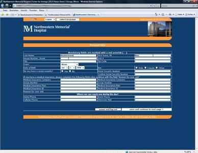 Ein Screenshot des neuen ePVS.