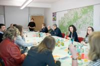 Workshop beim Kleinunternehmertag 2020.