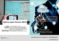 [PDF] sphinx open Forum 2015