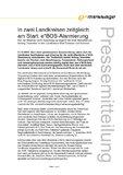 [PDF] Pressemitteilung: In zwei Landkreisen zeitgleich am Start: e*BOS-Alarmierung