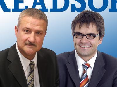 Durch Fusion noch engere Zusammenarbeit: Bruno Pohl (l.), Geschäftsführer der ReadSoft GmbH in Neu-Isenburg und Carsten Nelk von ReadSoft Ebydos.