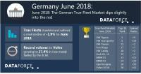 The German True Fleet Market dips slightly into the red