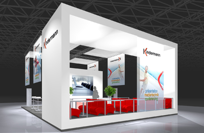 Kindermann Messestand ISE 2010_01