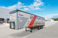 Kögel introduces the NOVUM-generation Cargo Rail