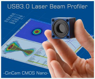 High-Speed USB3.0 Laser Beam Profiler