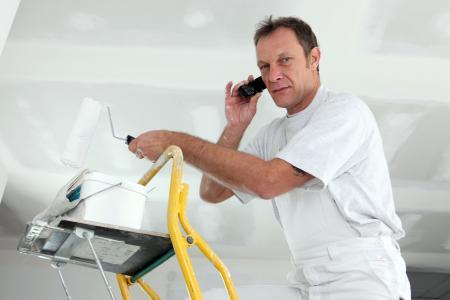 Telefonservice Handwerker Maler Leiter