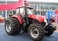 YTO tractor at a trade show in Haerbin, Heilongjiang province