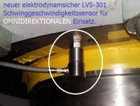Elektrodynamische Schwinggeschwindigkeitssensoren für omni-direktionalen Einsatz