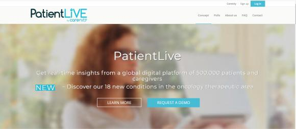 PatientLife Main page Carenity