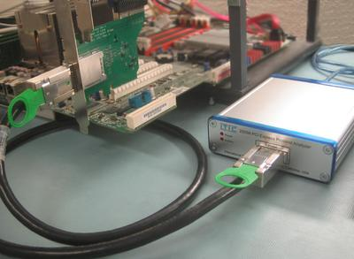 Kompakte Protokoll Analysatoren für USB 2.0 und PCI Express