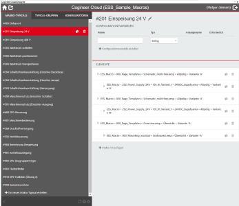 Im Designer lassen sich die Regelwerke der Software auf Basis von Makros erstellen, Quelle Eplan Software & Service GmbH & Co. KG