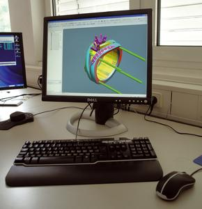 The parts library in hyperCAD® enables quick and easy design, editing, and revising of product variations