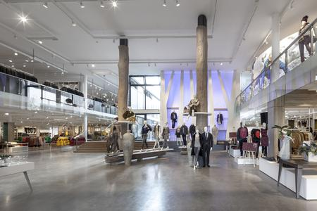 Enso Detego's solution supports the store's open space concept
