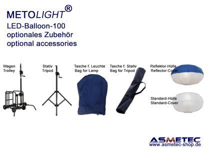 METOLIGHT LED-Ballon-Leuchten- Lieferbares Zubehör