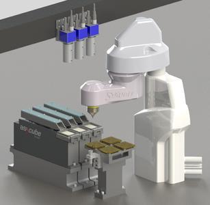 Asycube SmartSight mit Stäubli Scara