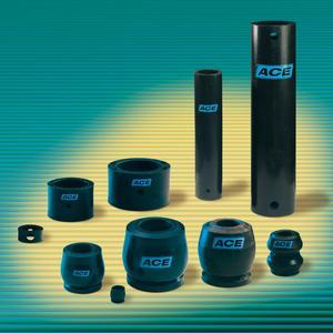 Mit Strukturdämpfern der ACE TUBUS-Serie haben Anwender die Wahl zwischen mehr als 140 Einzelprodukten und gehen auch in extremen Situationen auf Nummer Sicher (Bild- und Grafiknachweise: ACE Stoßdämpfer GmbH)