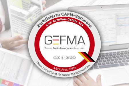 BIM inklusive: IMSWARE zum 5. Mal für die GEFMA 444 zertifiziert