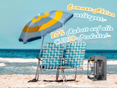 Summer Sale 2019: 20% auf alle CUR3D-Lizenzen