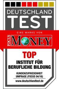 """Beim DEUTSCHLAND TEST """"Lernen fürs Leben"""" wurde das IBB als """"TOP Institut für berufliche Bildung"""" ausgezeichnet."""