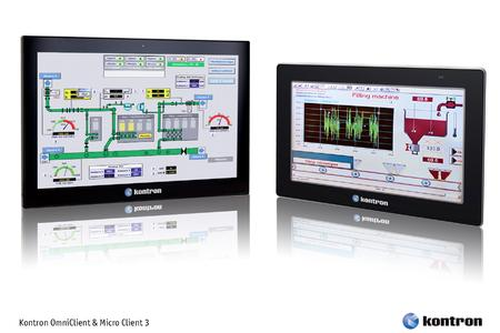 Kontrons new Panel PCs Micro Client 3 and OmniClient