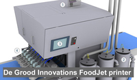 Smart-Camera powers Machine Vision System of Food-Printer