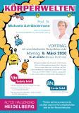 """Vortrag """"Glück & Gesundheit wohnen im Darm"""" von Bestsellerautorin Prof. Dr. Axt-Gadermann (""""Schlau mit Darm"""")"""