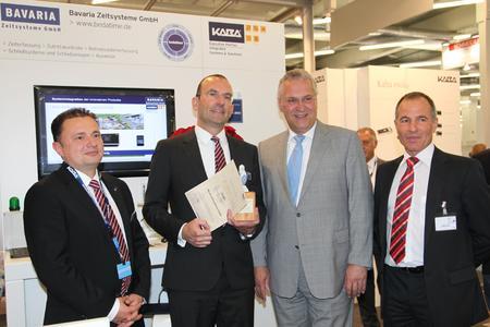 Preisverleihung durch Minister Joachim Herrmann