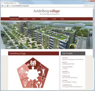 Neue Internetseite zum Heidelberg Village