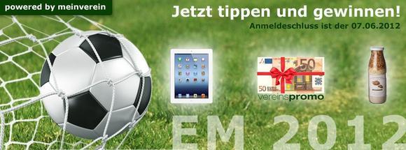 EM Tippspiel von vereinspromo powered by meinverein