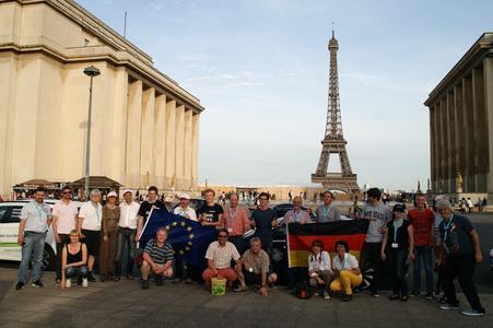 eTourEurope - Tour Eiffel - eRally