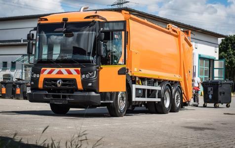 Der Renault Trucks D ACCESS rangiert mit einer Gesamtbreite von nur 2,29 Metern marktweit an der Spitze