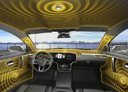Excellent 3D sound: Even experts have given the highest praise for Continental´s speakerless audio system