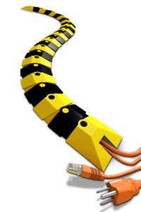 Flexible and Secure with Customizable Length - the Ultra-Sidewinder Cable Protection System
