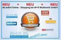 NEU - willkommen im Onlineshop der M+R Multitronik