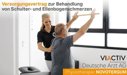 Schulter, Ellenbogen, Versorgungsvertrag, VIACTIV, NOVOTERGUM, Deutsche Arzt AG