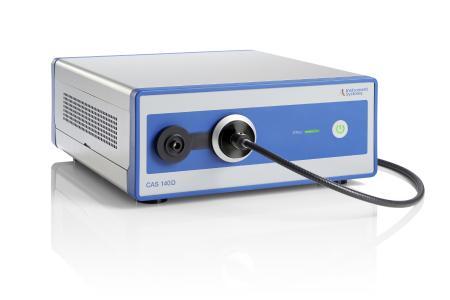Das streulichtkorrigierte Array-Spektrometer CAS 140D eignet sich auch zur zur Beurteilung der Blaulichtgefährdung durch