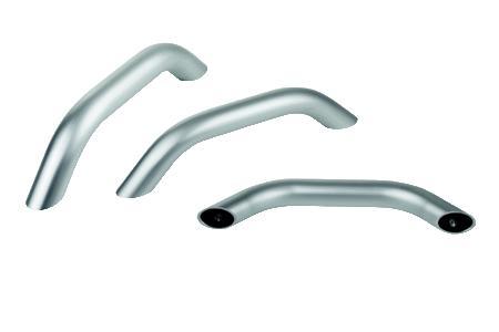 Die leichten und stabilen Aluminiumgriffe bieten eine innovative Befestigung und erfüllen höchste Designansprüche