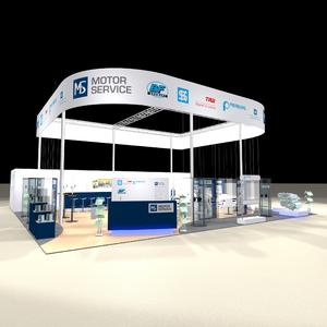 Messestand Motor Service Equip A 2011