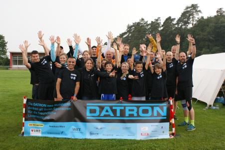 The DATRON neo Runners beam after the 24 hour run 2016