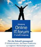 Für die Zukunft gewappnet - Online IT.forum Infrastrukturen