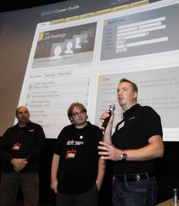 Dirk Beichert, Matthias Lange and Sebastian Dosch start the DOSCH Career Guide, Photo Credit: Christian Schwab