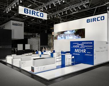 Präsentation von BIRCO auf der Bau 2015 in München