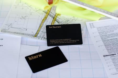 Die klarx Kundenkarte bietet exklusive Vorteile.