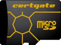 Die microSD-Karte 'cgCard'