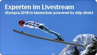 Olympia 2018 Workshop live im Internet powered by TV1.EU