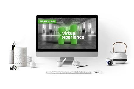 Die virtual Xperience öffnet am 14. Mai um 10 Uhr zum ersten Mal Ihre Tore