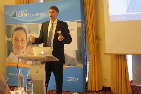 Jürgen Litz, Geschäftsführer cobra GmbH