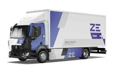 Renault Trucks erwartet, dass Elektrofahrzeuge bis 2025 insgesamt zehn Prozent des eigenen Absatzvolumens ausmachen werden