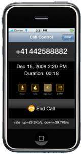 is-phone for iPhone Call Screensho