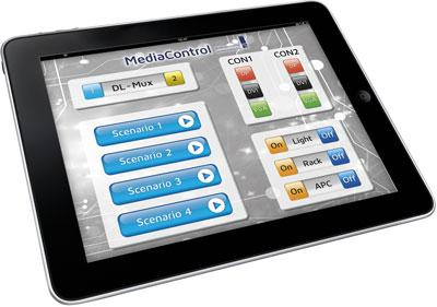 Joint development from Guntermann & Drunck and Medientechnik Thomas: Touchpad for user-friendly media control
